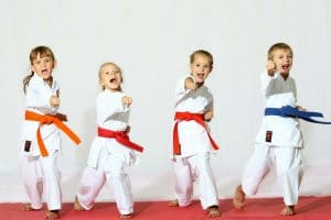 Saggio di Taekwondo